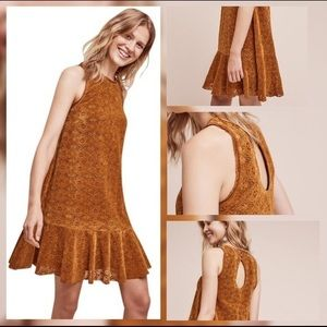 Suede Anthropology Dress